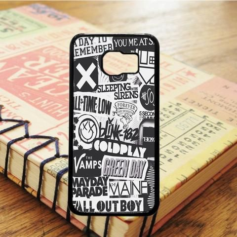 The Xx Coldplay Arctic Monkeys Samsung Galaxy S7 Edge Case