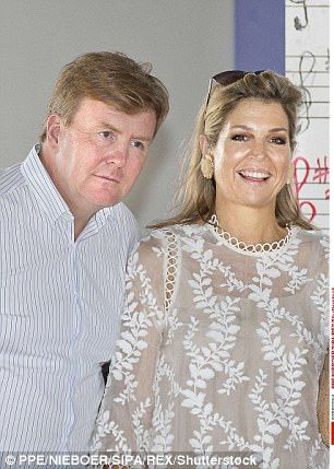 Raising awareness: Queen Maxima and King Willem-Alexander on their three-day visit