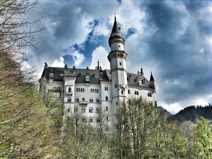 Neuenschwanstein Castle in Fussen, Germany