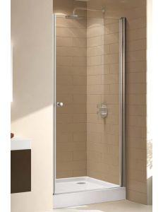 Двери в душевой проем Cezares ECO-B-1-90-P-Cr текстурное