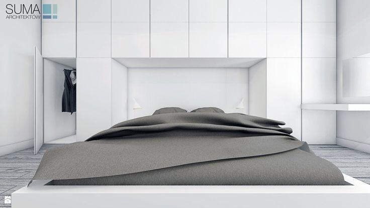 Sypialnia BRO_3 - zdjęcie od SUMA Architektów - Sypialnia - Styl Minimalistyczny - SUMA Architektów