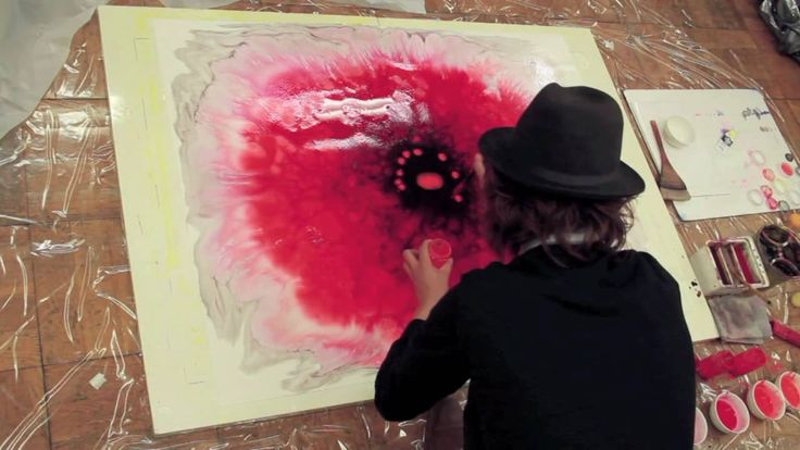 OHGUSHI「Watercolor flower」LIVE PAINTING  #Livepainting #watercolor_flower #OHGUSHI #particles #illustration #水彩 #粒子