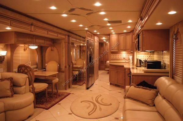 Luxury Rv Interiors Essex 4510 Used Luxury All