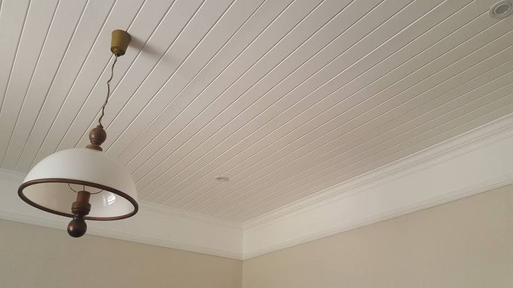 Gorgeous IsoBoard installation done by The Ceiling Wizards.   IsoBoard is suitable to be installed as a ceiling, either beneath an existing ceiling, or between trusses or rafters. It can even be painted to create a wood like finish. When installed properly IsoBoard has an almost indefinite lifespan.