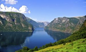 Groupon - ✈ 12-Day Norway Tour & Cruise with Air from Gate 1 Travel. Price/Person Based on Double Occupancy (Buy 1 Groupon/Person) in Oslo, Flam, and Coastal Cruise. Groupon deal price: $3,999