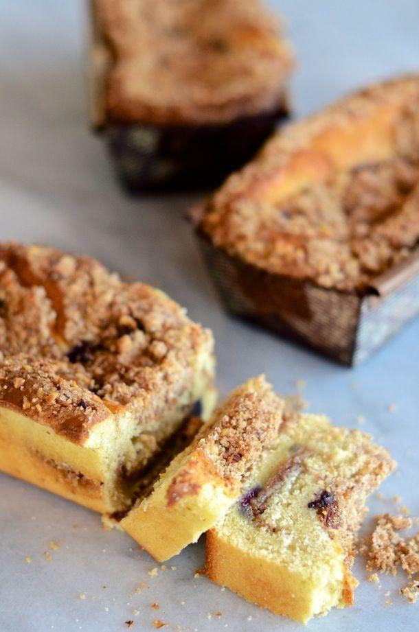 Tuesday Tastings :: Blueberry-Lemon Coffee Cake