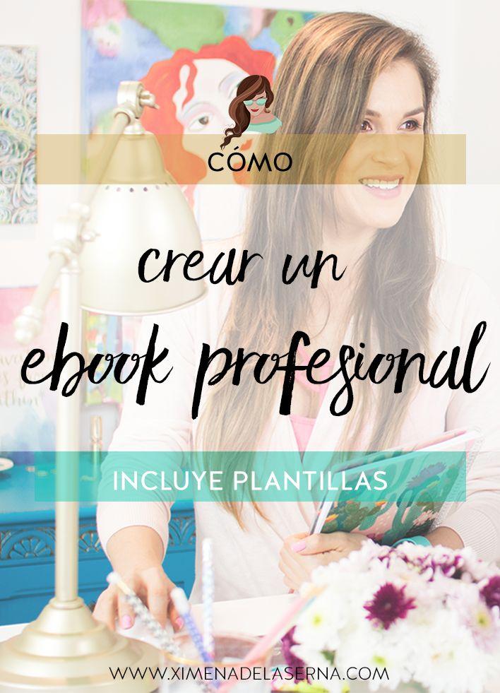 Cómo crear un ebook y venderlo (incluso si eres principiante y no sabes nada de diseño) INCLUYE PLANTILLAS! Haz clic YA!