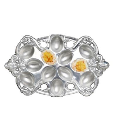 Arthur Court Fleur-de-Lis Egg Holder at Dillards