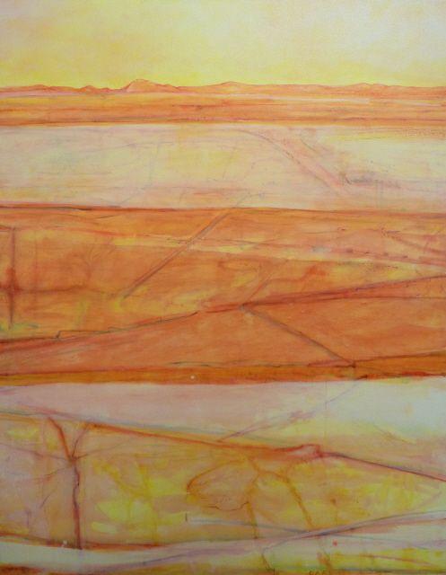 Pilbara Landscape - Australian landscape artist Fred Williams