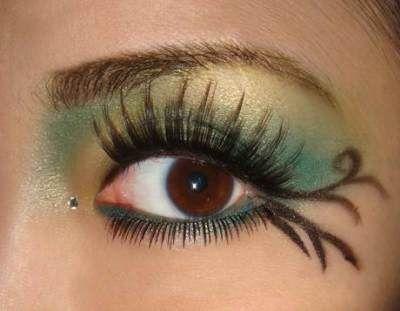 Green Fairy Makeup For Halloween | AmazingMakeups.com
