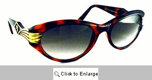 Celeste Silver Screen Sunglasses - 410 Tortoise
