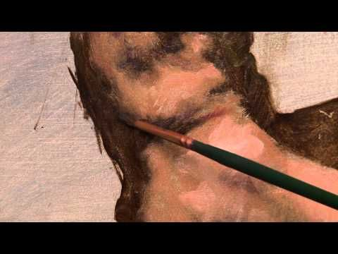 Excerpts from two instructional painting dvds by Robert Liberace. Includes The Figure in Oil Sketch dvd and Alla Prima Portrait dvd.
