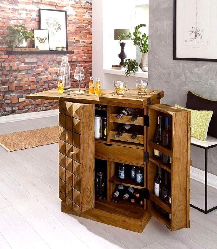 Bar Im Wohnzimmer Ideen in 2020   Bar furniture, Home bar designs, Retro home decor