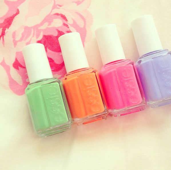 Pastel Orange Nail Polish Essie: 1000+ Ideas About Orange Nail Polish On Pinterest