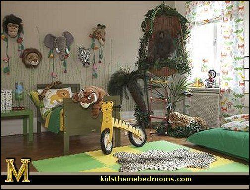Kids Bedroom Jungle Theme 39 best kids room: jungle images on pinterest | jungle bedroom