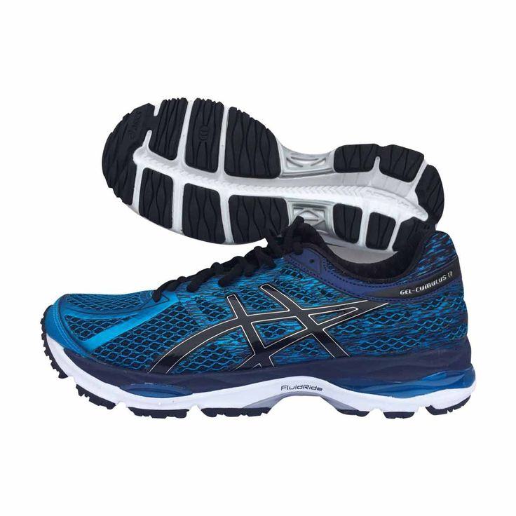 The ASICS GEL CUMULUS 17 Is designed to provide improved cushioning and  bounce via the latest in FluidRide mid-sole technology. Top rated running  shoe.