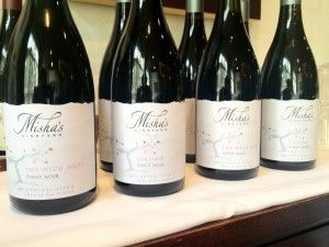 These days Misha's Vineyard brand is recognised, and they are a year ahead of schedule on their 10 year plan. Few new New Zealand wineries are able to say that these days.  These guys are a thoroughbred in the making. With great temperament but focused and knows what it needs to do to be a winner. Fine and delicately structured, they sit comfortably in the stable complimenting one another.
