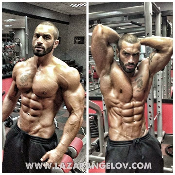 Fitness Star Lazar Angelov at his GYM - YOURTBOX