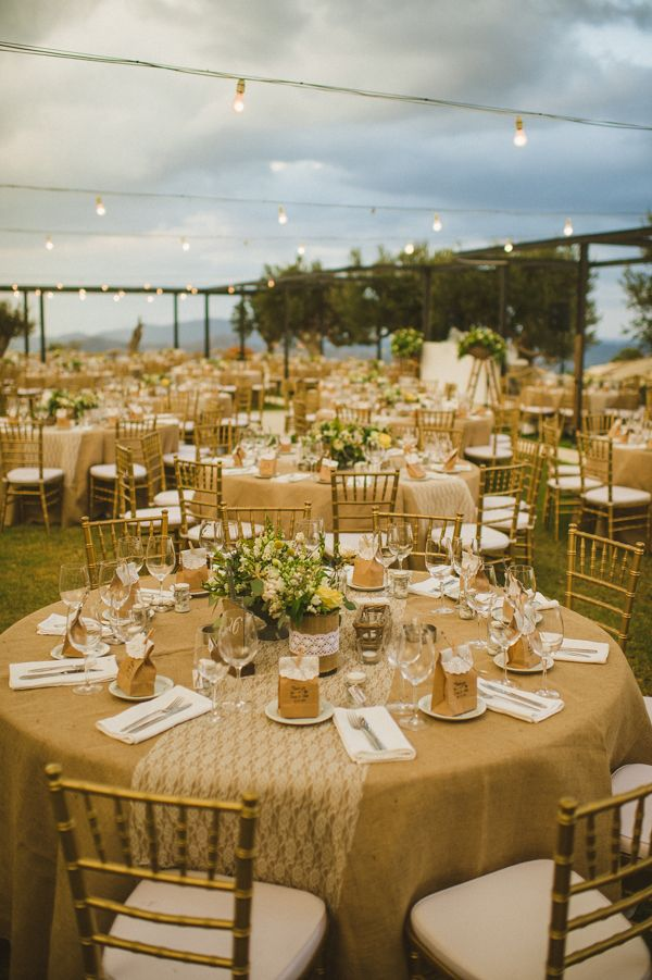 A Rustic Winery Wedding In Cyprus