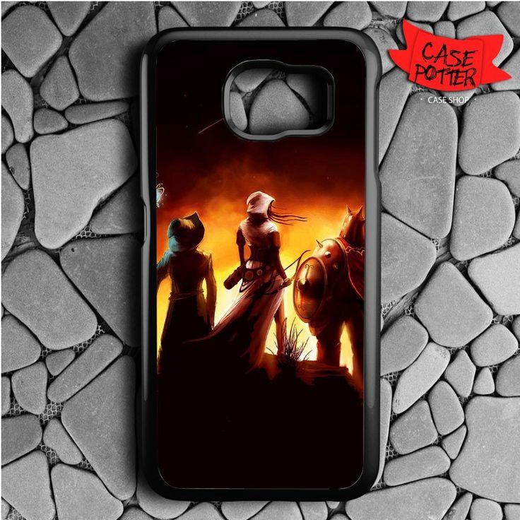 Games Moon Trine 3d Samsung Galaxy S6 Black Case