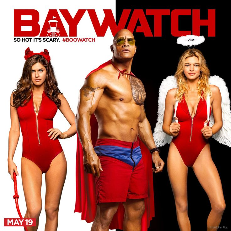 Baywatch Poster 2- India Release