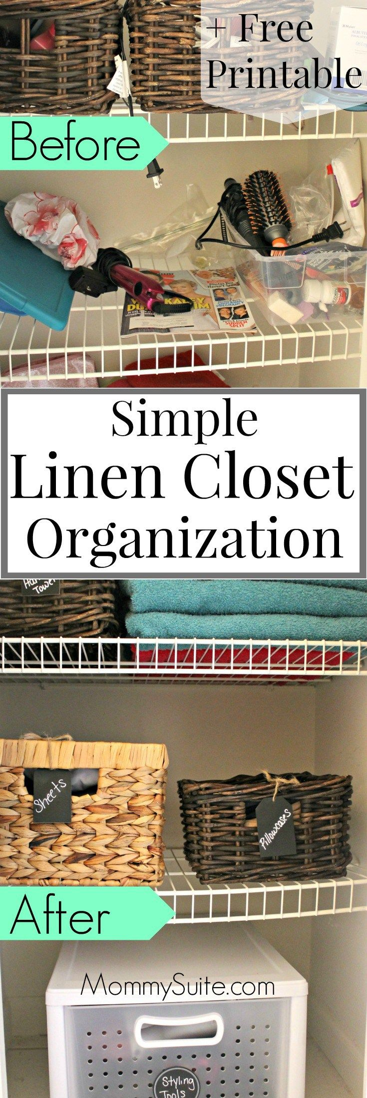 Best 25+ Small linen closets ideas on Pinterest | Organize a linen ...