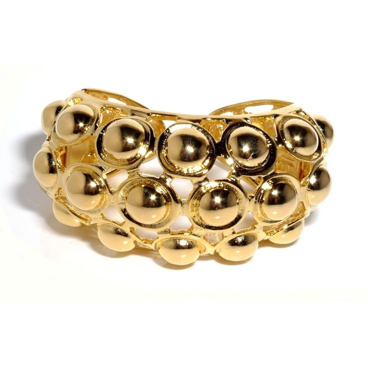 Kenneth Jay Lane Champagne Bubble Cuff