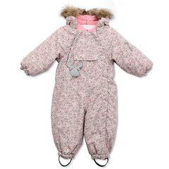 Girls Snowsuit Fur Print #fallforwheat #wheatkids