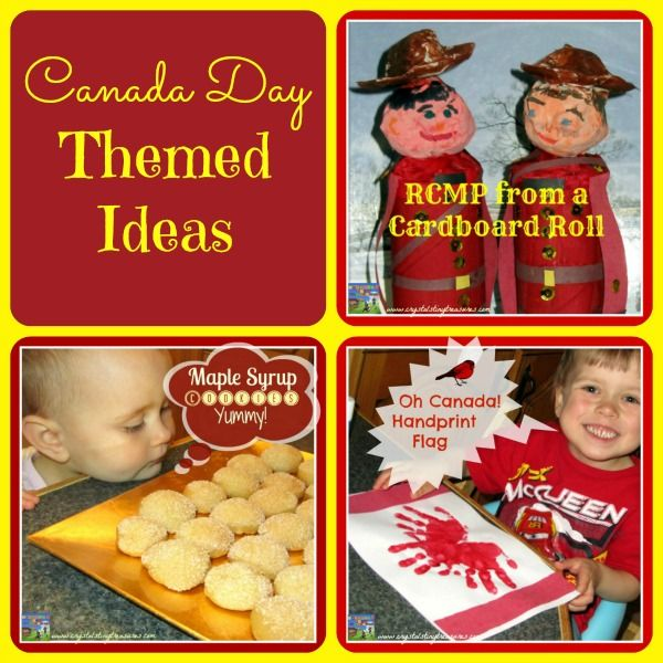 CANADA DAY IDEAS - Crystal's Tiny Treasures