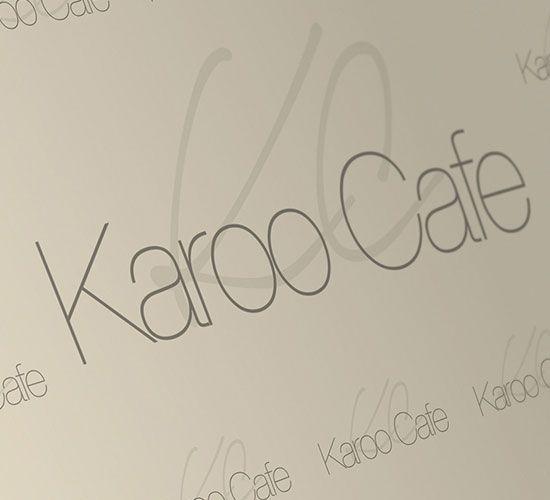 KAROO CAFE logo design