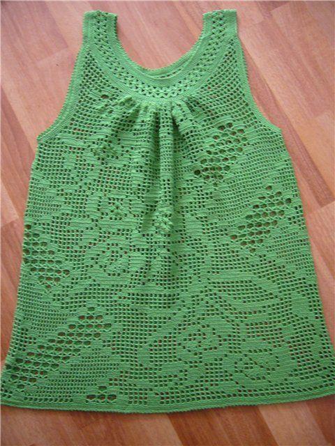crochet summer top, crochet pattern | make handmade, crochet, craft