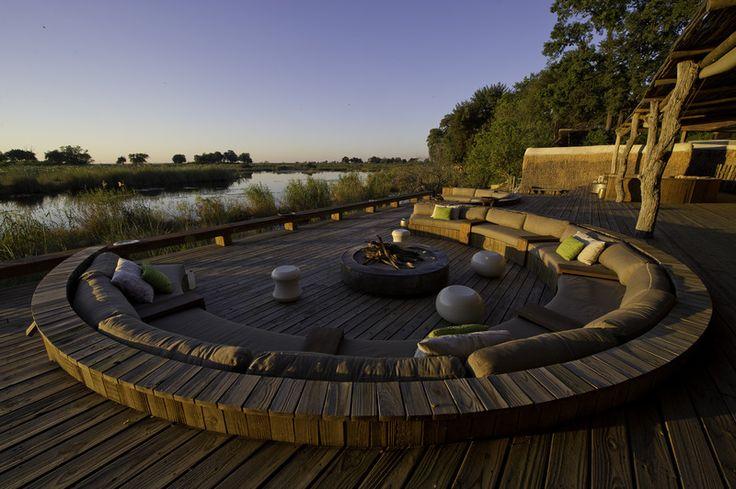 African safari holidays, team building experiences and wildlife photography experiences accommodation Kings Pool, Okavango Delta, Botswana.