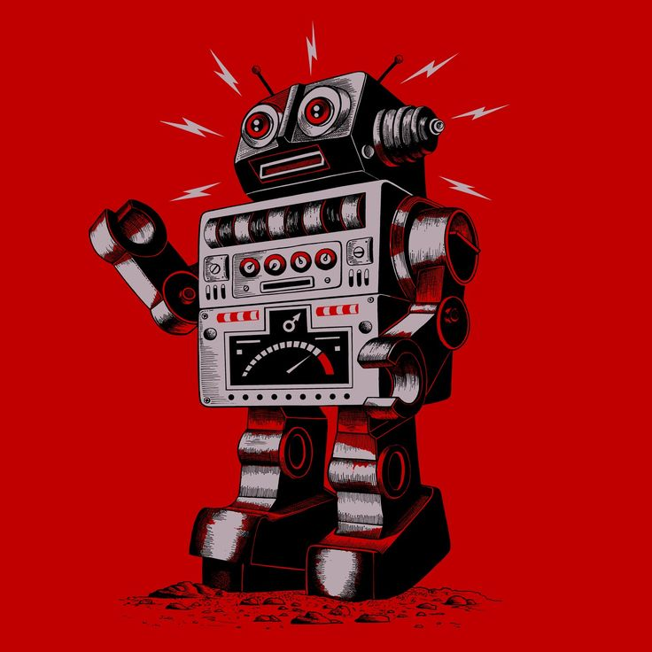 Robot picture | Thirsty Fly: Vintage Robot