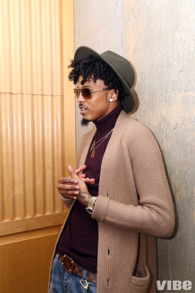 August Alsina Talks His Style & Hair Evolution
