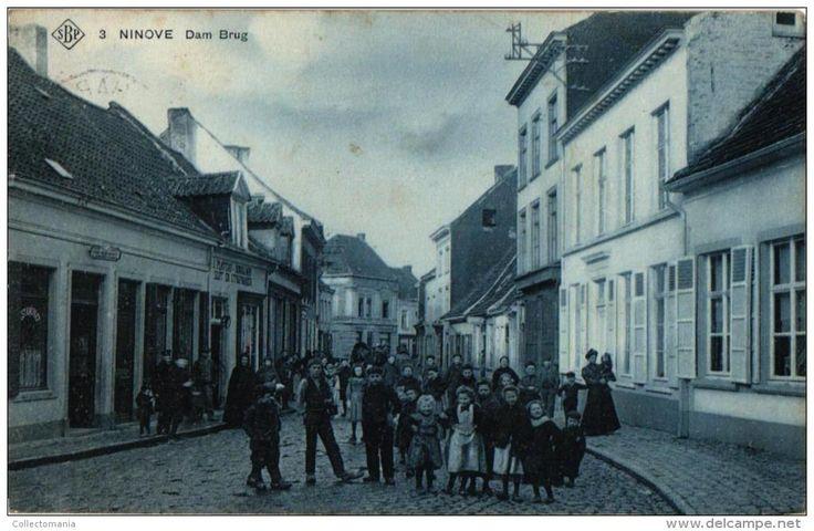 Ninove Burchtdam: ter hoogte van geboorte huis van Dr Hemmerijcks