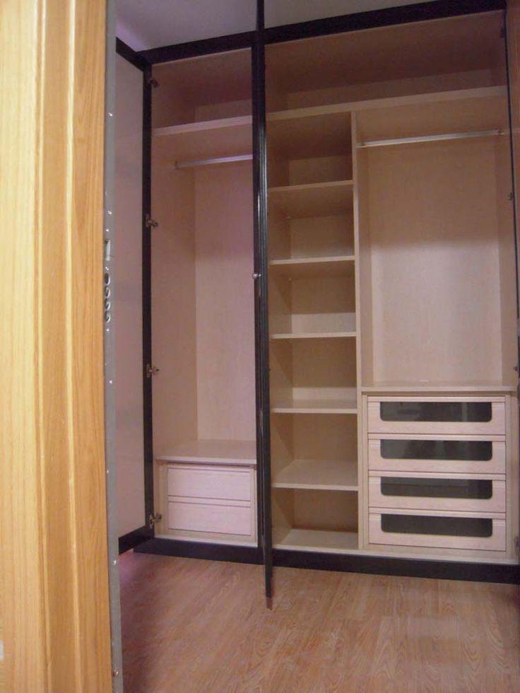 Oltre 1000 idee su interiores de armarios empotrados su for Armarios empotrados