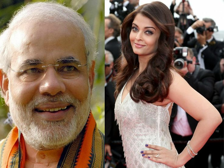 While most of the top celebrities have avoided directly congratulating Narendra Modi , after his historic win in the Lok Sabha elections, Aishwarya Rai Bachchan has welcomed him.