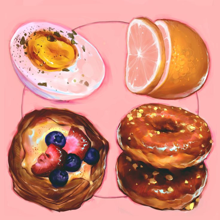 A set of round foods | Syd Mills