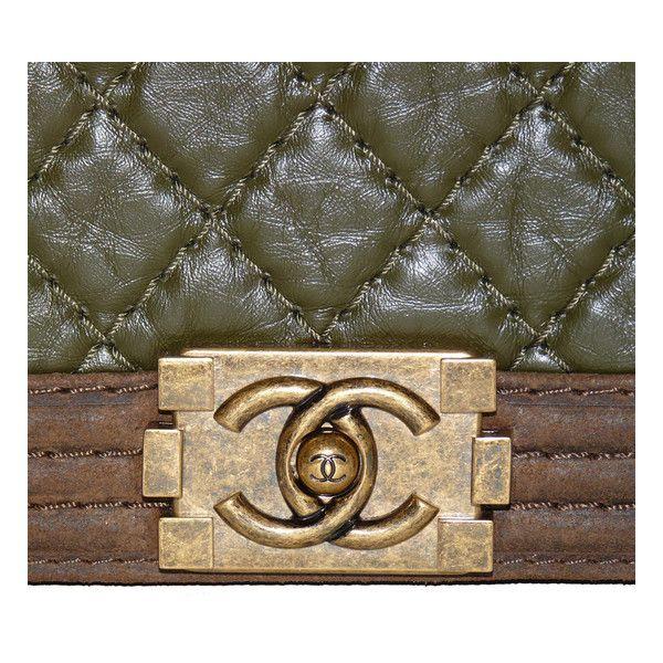 depot vente de luxe en ligne chanel sac boy en tissu matelassé kaki et peau marron TendanceShopping.com consignment luxury boutique online http://www.tendanceshopping.com/CHANEL-SAC-BOY-EN-TISSU-KAKI-MATELASSE-ET-PEAU-MARRON.html