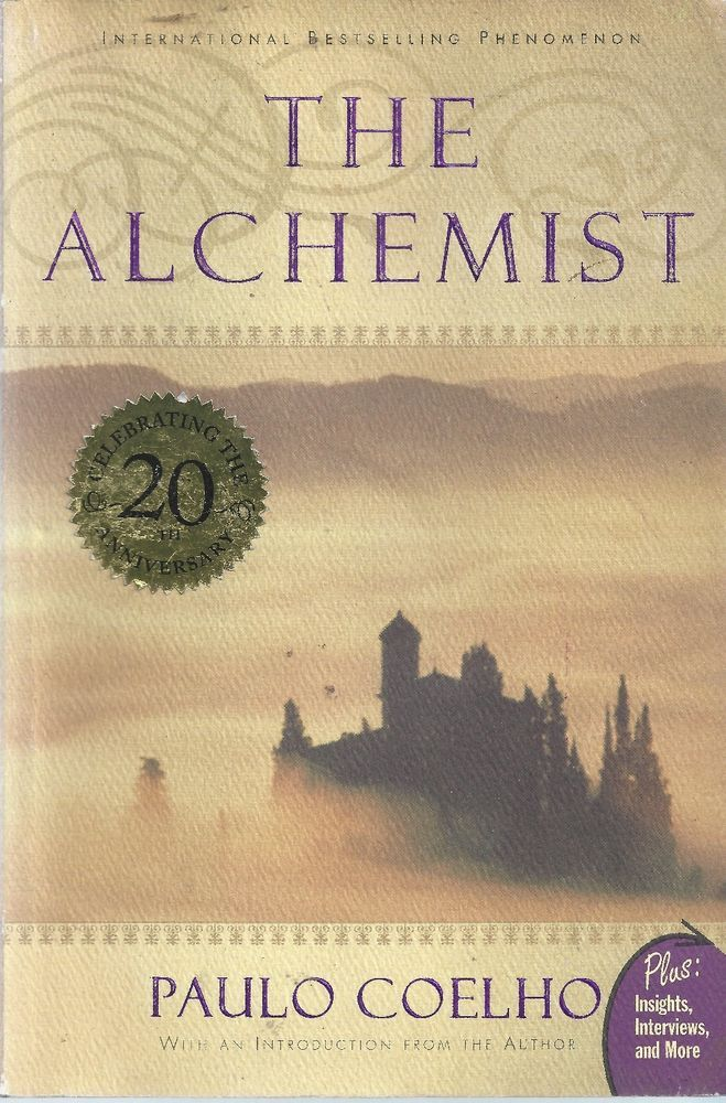 The Alchemist by Paulo Coelho paperback free shipping