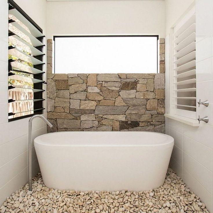 Best 25+ Natural stone bathroom ideas on Pinterest | Rock shower ...