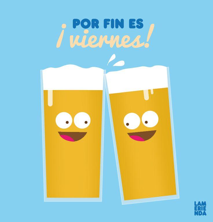 Por fin es viernes #poster #design #illustration #viernes
