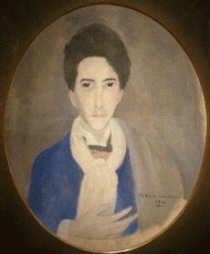Cocteau by Marie Laurencin, 1921 (Fondation Pierre Bergé Yves St Laurent)