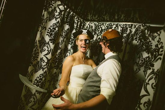 One of our gorgeous 'In the Booth' Brisbane couples featured on Polka Dot Bride.