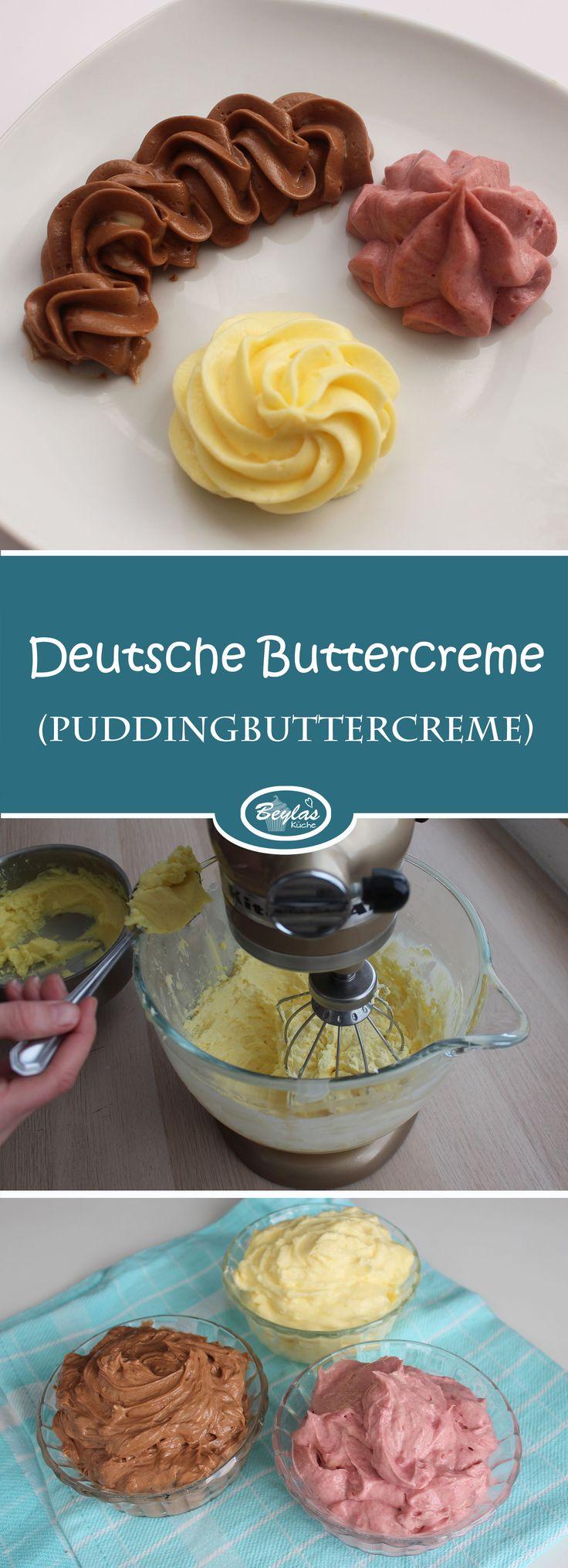 Puddingbuttercreme (Deutsche Buttercreme) – Kuchen und Torten neu
