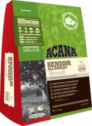 ACANA Senior Dog  For all adult dogs (7 years & older)