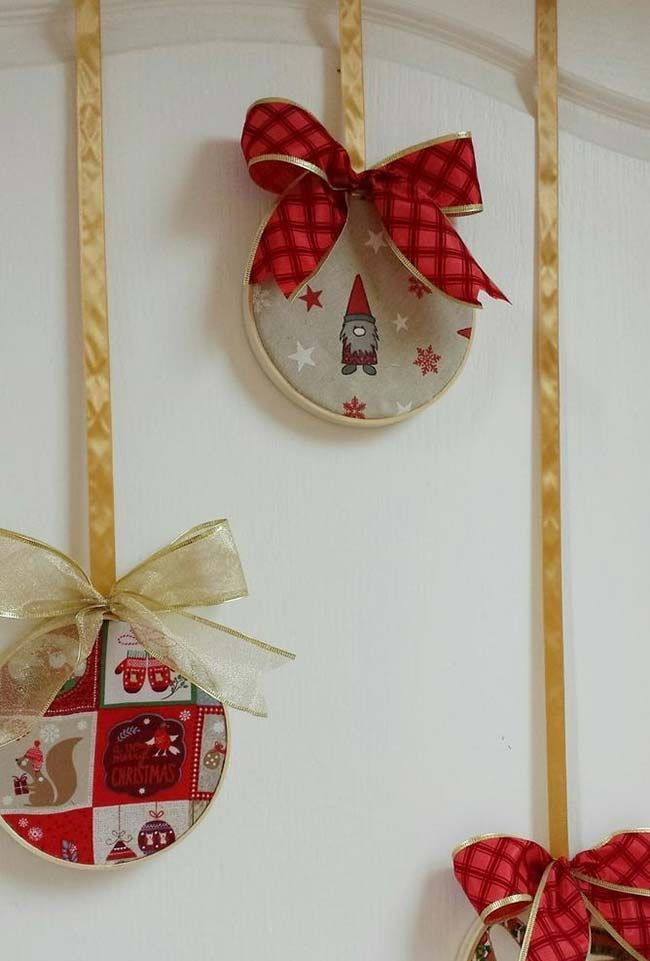 Artesanato de natal com cd