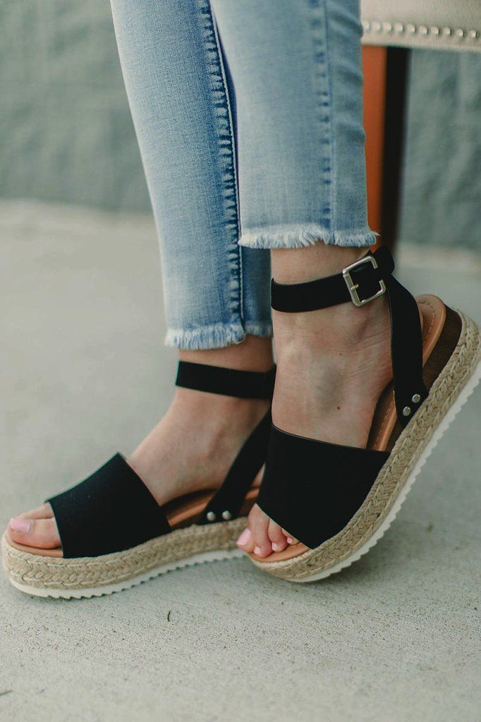 a16c1c8b8cee Hot Topic Espadrille Sandal in 2019