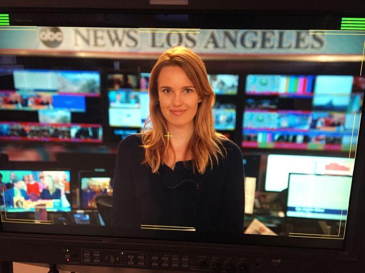 news producer, behind the scenes, abc news, good morning america, career, job, cassidy gard, tv reporter,