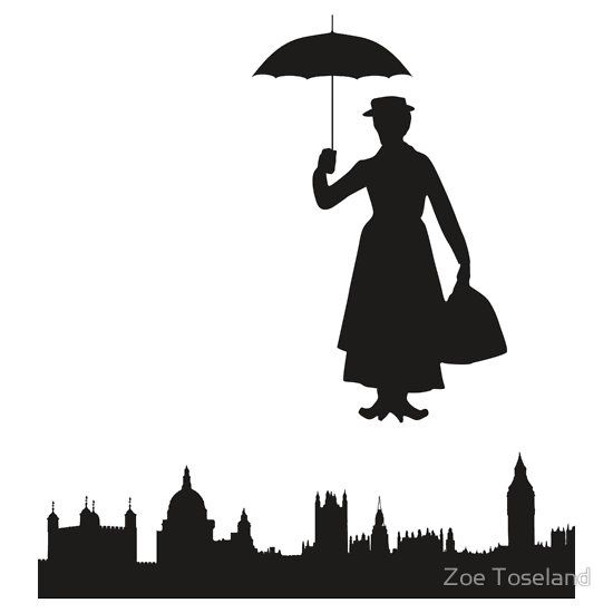 Mary Poppins Chimney Sweep Silhouette Images 17 Best images about G...